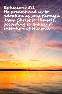 Ephesians 1;5
