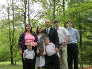 Family in Park May 2012-1