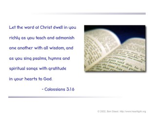 Colossians3,16