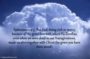Ephesians2;4-5