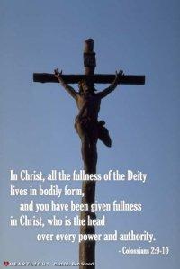 Colossians 2;9-10