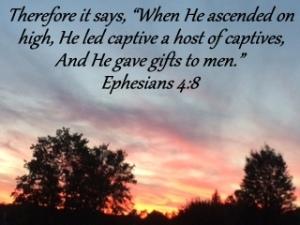 Ephesians 4;8