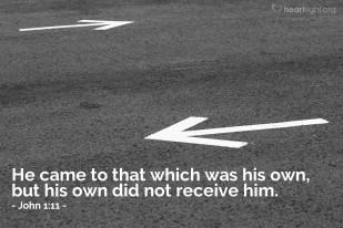 John 1;11