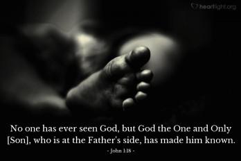 John 1;18