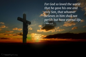 John 3;16